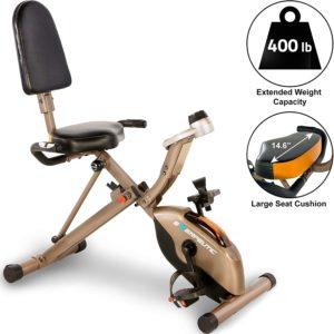 Meilleur vélo d'appartement pliable : Exerpeutic GOLD 525XLR