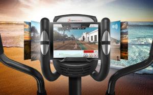 Sportstech Vélo elliptique CX625