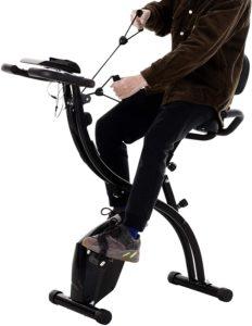 Vélo d'appartement avec dossier Homcom