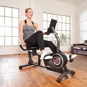 Vélo d'appartement avec dossier SportPlus