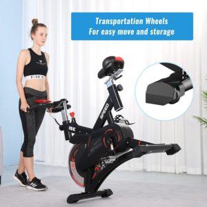 Vélo d'appartement professionnel  ISE SY-7500-01