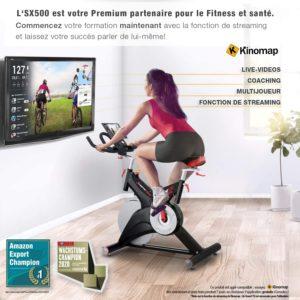 Vélo d'appartement professionnel  SX500
